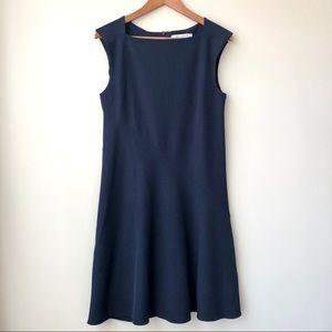 MM Lafluer Pauline Cap Sleeve Dress in Galaxy Blue